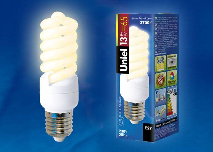 Лампа спиральная энергосберегающая